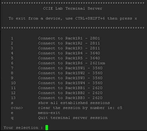 server room relocation checklist