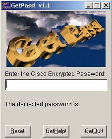 Decrypting Cisco type-7 password – Routing-Bits